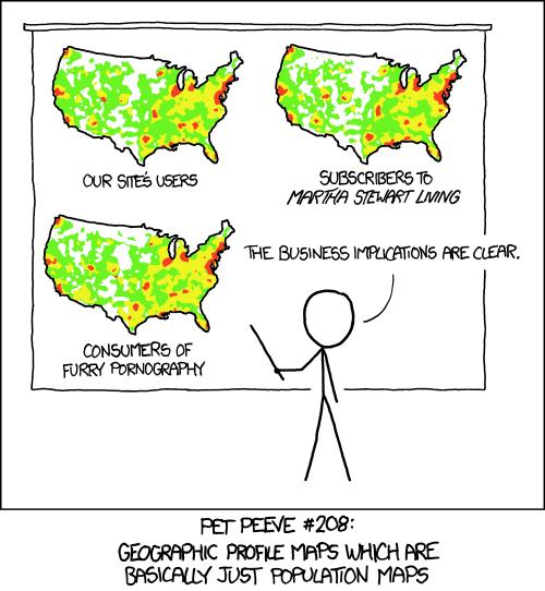 xkcd heatmap